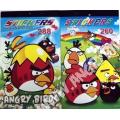 Набор наклеек (стикеров) Angry Birds 260 штук