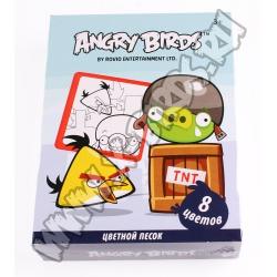 Набор цветного песка Angry Birds
