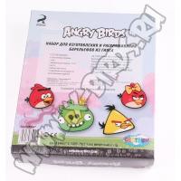 Магниты Angry Birds из гипса