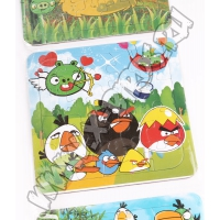 Набор из 3 паззлов Angry Birds