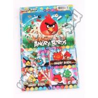Набор наклеек (стикеров) Angry Birds