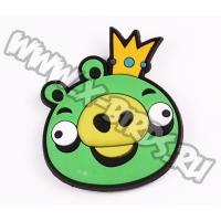 Магнит Angry Birds резиновый