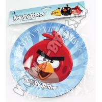 Бумажные тарелки Angry Birds