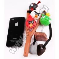 Рогатка и персонажи Angry Birds