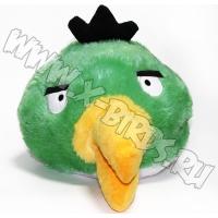 Птичка зеленая  Игрушка Angry Birds плюшевая.