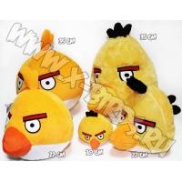 Птичка желтая  Игрушка Angry Birds плюшевая.