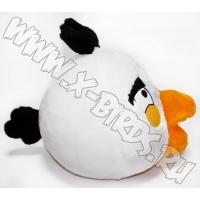 Птичка белая Игрушка Angry Birds плюшевая.