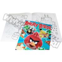 Альбом-раскраска  Angry Birds