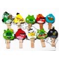 Мини-прищепки Angry Birds