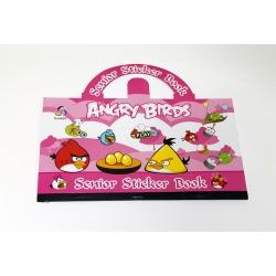 Книжка с наклейками Angry Birds