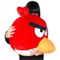 Птичка красная Игрушка Angry Birds плюшевая.
