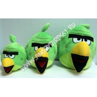 Зеленая птичка Angry Birds Space