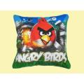 Подушка 40см Angry Birds квадратная