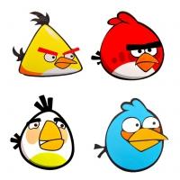 Наклейка (стикер) Angry Birds на машину