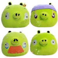 Свинка зеленая Игрушка Angry Birds плюшевая